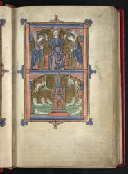 The Last Judgement, In 'The Grandisson Psalter'